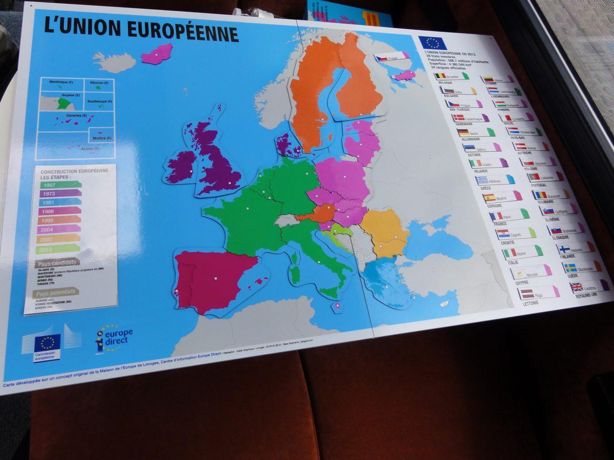 Kit animation Euro collège