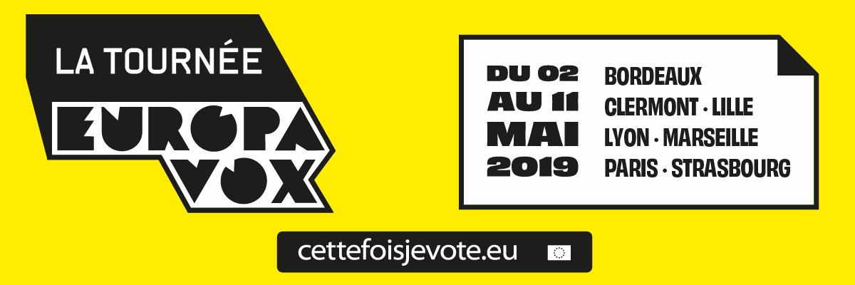 Tournée Cette Fois Je Vote : concerts, stand-up et débats pour l'engagement citoyen aux [...]