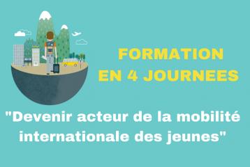 """Formations """"Devenir acteur de la mobilité internationale des jeunes"""""""
