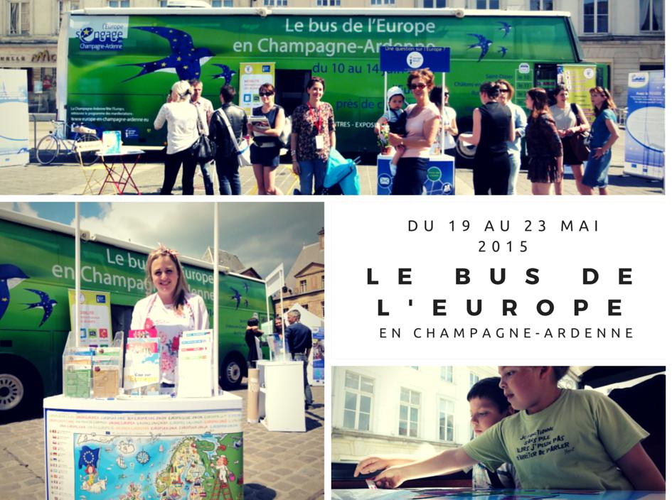 Le Bus de l'Europe à Reims