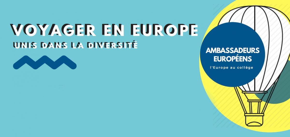 Voyager en Europe - Unis dans la diversité
