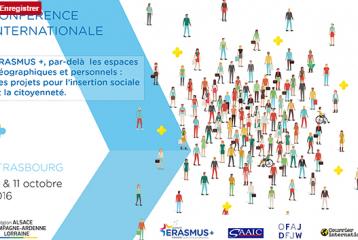 Conférence internationale : Erasmus+, projets pour l'insertion sociale et la citoyenneté - [...]