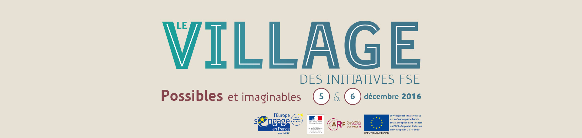 Le village des initiatives FSE