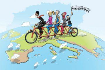 On y va – auf geht's – let's go! Concours d'idées pour citoyens européens