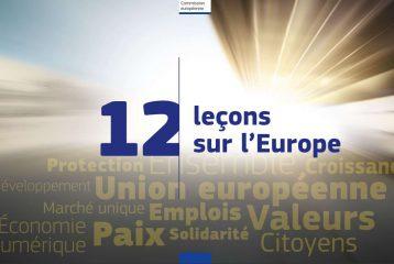 Nouvelle édition de la brochure 12 leçons sur l'Europe !