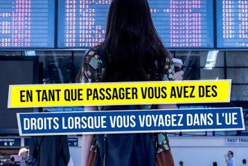 Train en retard ? Vol annulé ? Vous avez des droits lorsque vous voyagez dans l'UE !