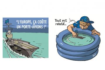 Il y a trop de fonctionnaires européens et ils coûtent trop chers ! Vraiment ?