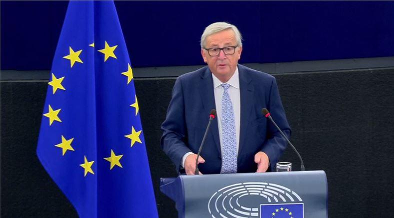 Jean-Claude Juncker et l'état de l'Union 2017