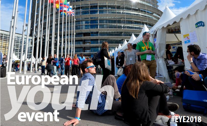 Rencontre des jeunes Européens à Strasbourg : EYE2018