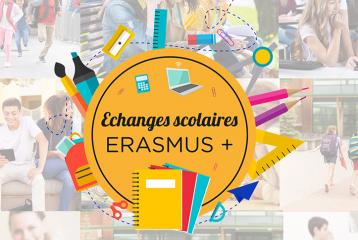 Echanges scolaires Erasmus+ : en 2018 plus de budget, plus de projets !