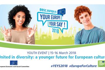 « Votre Europe, votre avis » : 15 - 16 mars 2018 à Bruxelles