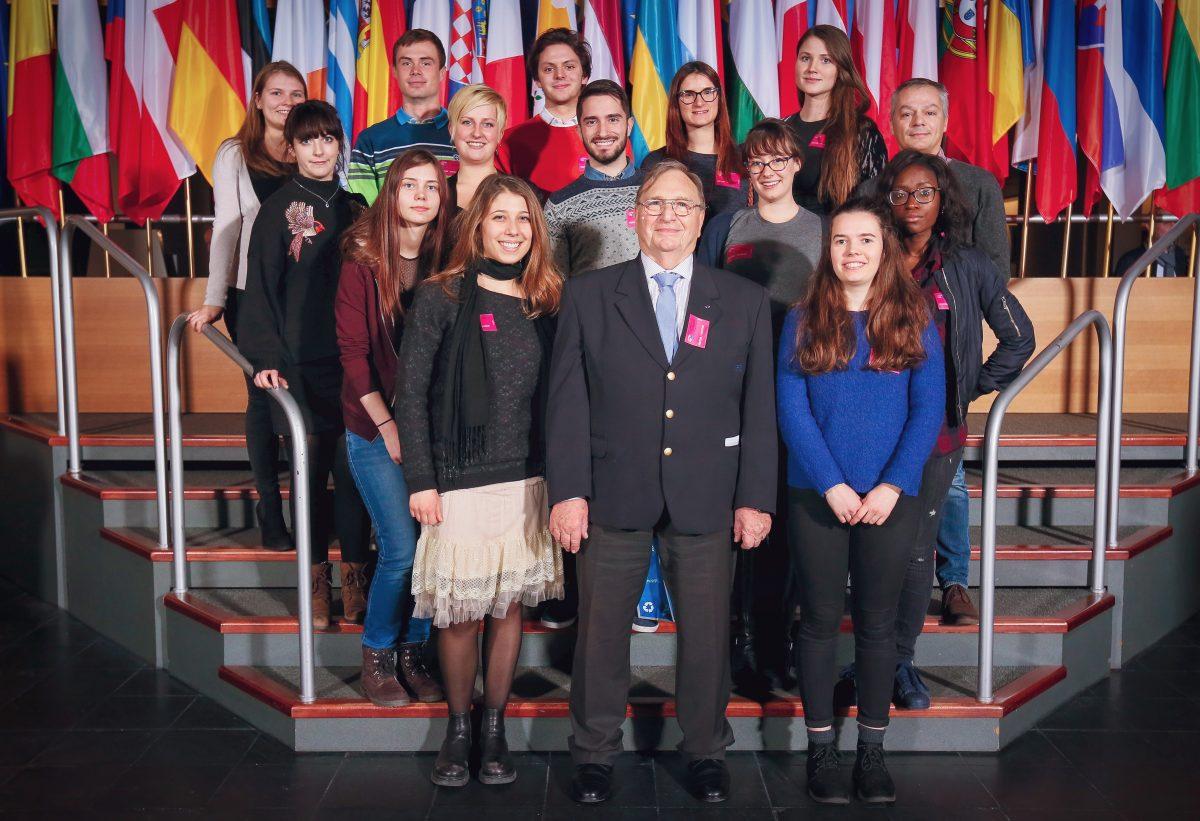 Des européens à Strasbourg : reportage