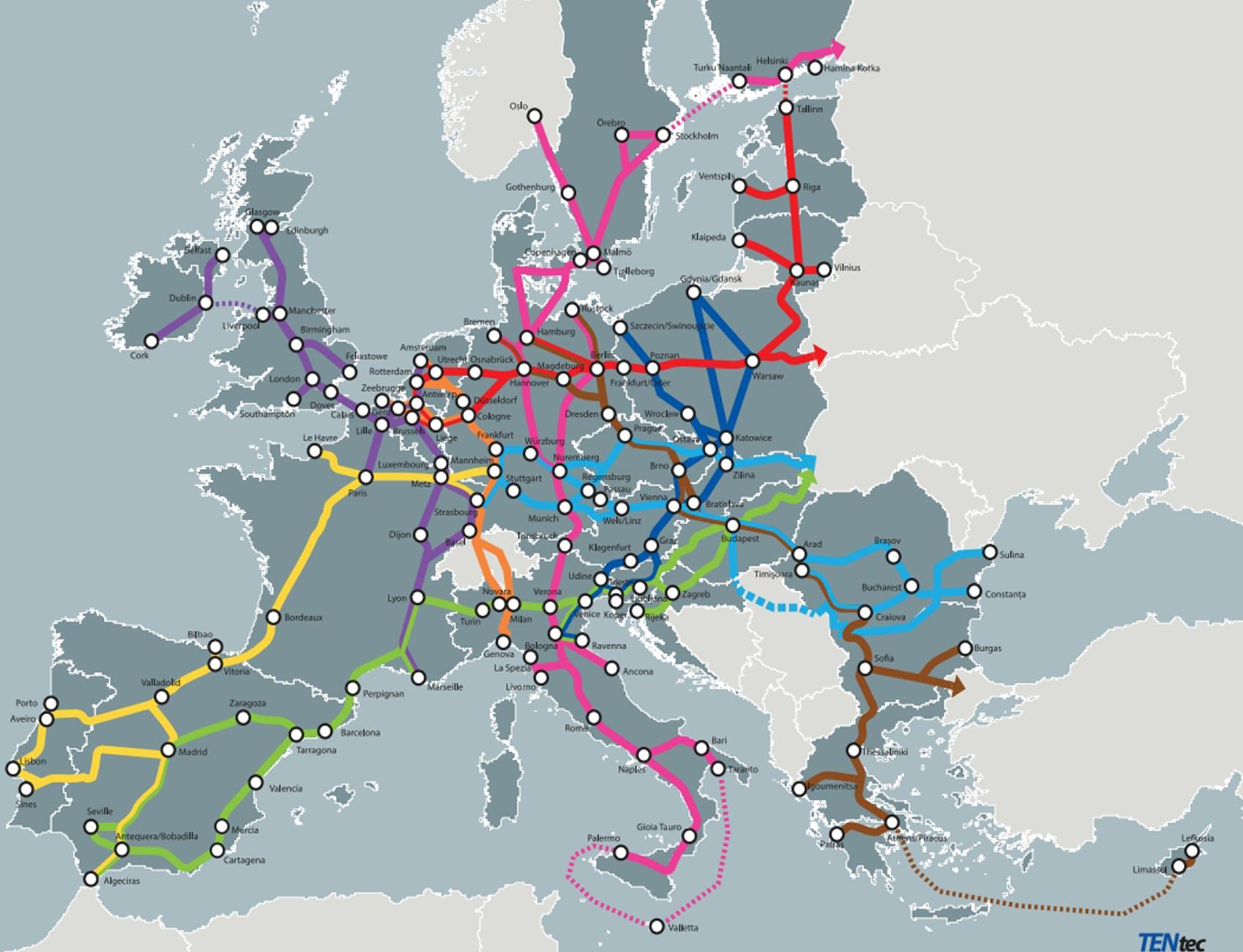 117 million d'Euros pour des infrastructures de transport durable