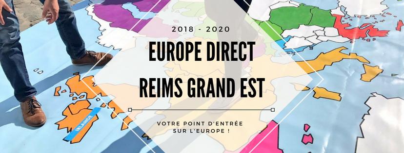 Europe Direct Reims Grand Est : un réseau renouvelé pour 2018-2020 !