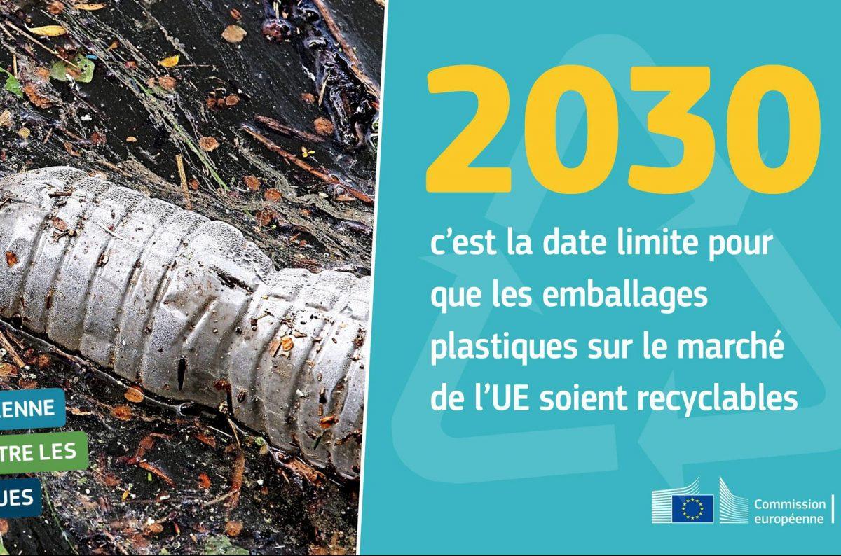 Déchets plastiques: une stratégie européenne pour protéger la planète !