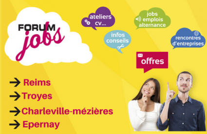 Un projet de job ou de stage en Europe ? Rencontrez-nous aux Forum jobs !
