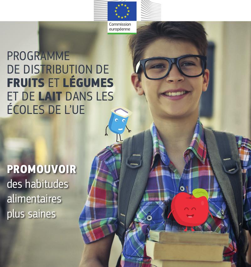 Des millions d'écoliers européens bénéficient de produits sains grâce à un programme de l'UE