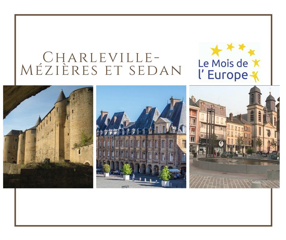 Charleville-Mézières et Sedan fêtent l'Europe ensemble