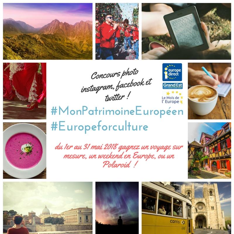 Concours photo #MonPatrimoineEuropéen #EuropeforCulture - Mois de l'Europe en Grand Est