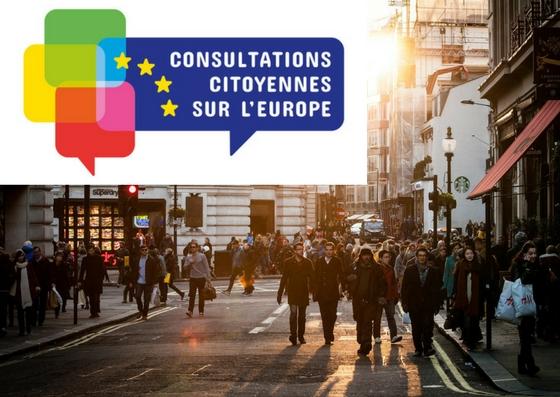 Des Consultations citoyennes sur l'Europe en France !