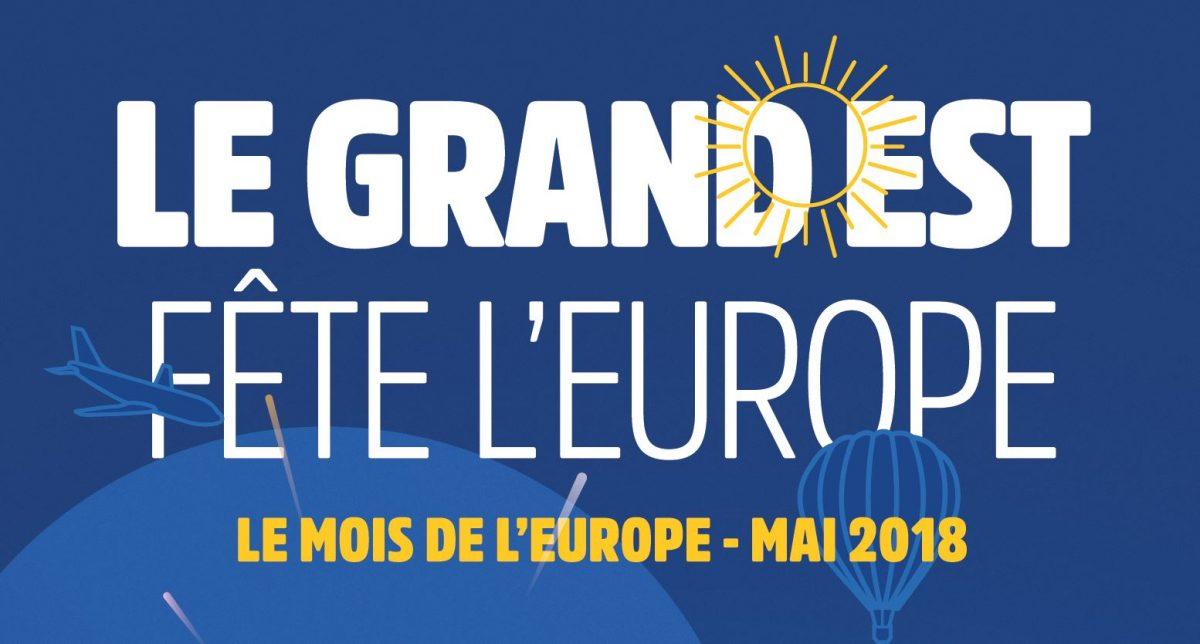 Le Grand Est fête l'Europe pendant tout le mois de mai !