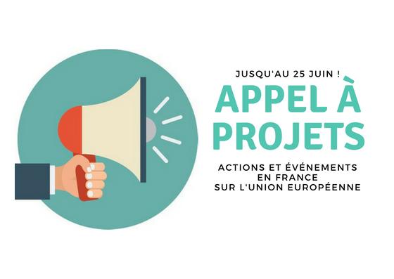 Appel à projets : actions et événements en France sur l'Union européenne