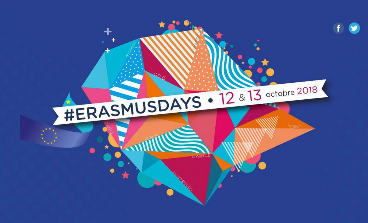 #ErasmusDays 2018 : Ouverture des inscriptions