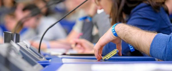 8000 jeunes au PE Strasbourg : « une bouffée d'air frais pour la démocratie européenne »