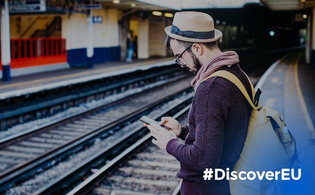 Avis aux 18 ans : candidatez à DiscoverEU au CRIJ !