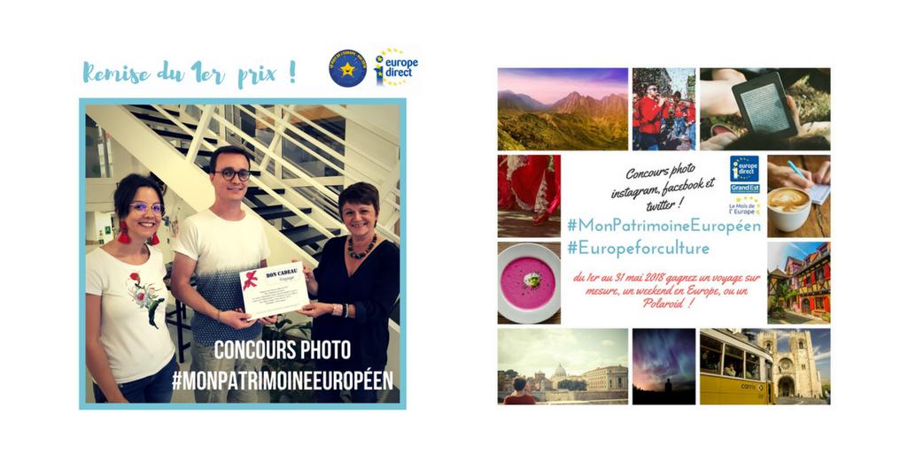 Lauréats du concours photo #Monpatrimoineuropéen #Europeforculture