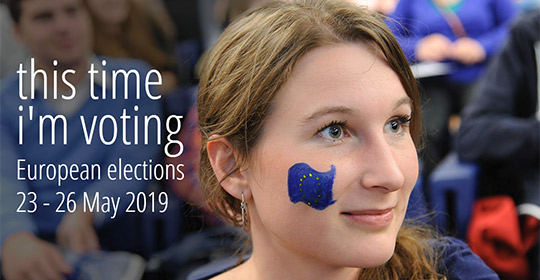Cette fois je vote ! Cap sur les élections européennes de mai 2019 !