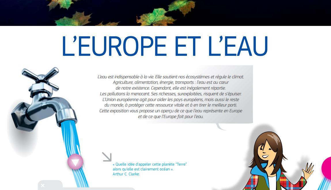 L'Europe et l'eau