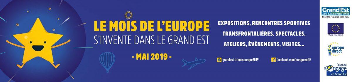 Le mois de l'Europe s'invente dans le Grand Est !