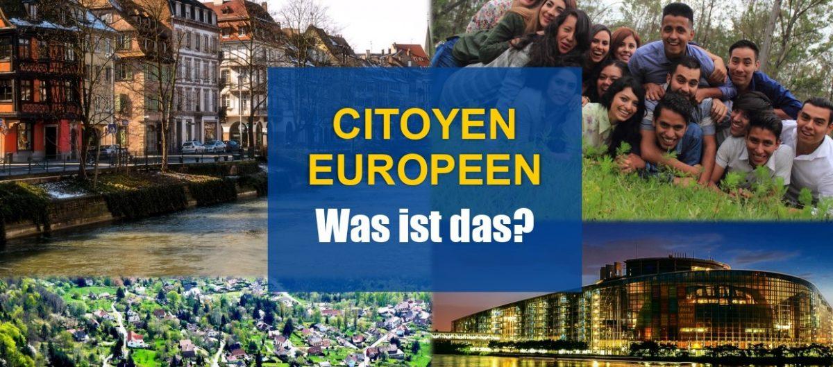 """""""Citoyen européen - Was ist das ?"""" : Semaine interculturelle franco-allemande à Strasbourg"""