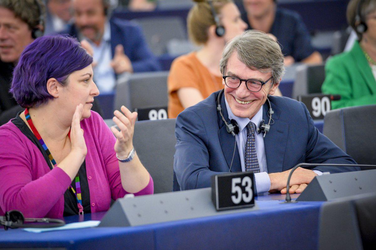 L'italien David-Maria Sassoli, élu Président du Parlement européen