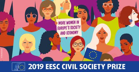 Le CESE consacre son prix de la société civile 2019 à l'émancipation des femmes et [...]