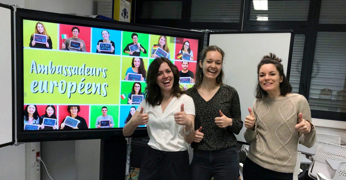Ambassadeurs Européens, l'Europe à l'Ecole: nouvelle campagne 2019