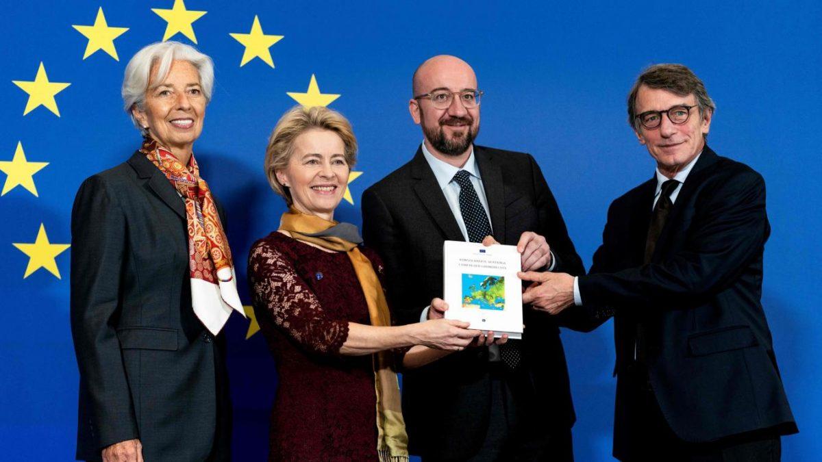 Les nouvelles têtes des institutions européennes