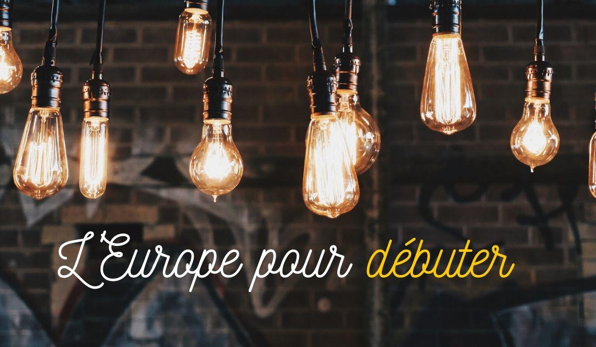 L'Europe pour débuter : des séances d'infos pour tous
