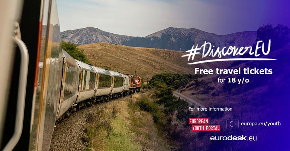 Avis aux 18 ans : candidatez à DiscoverEU et découvrez l'Europe en train !