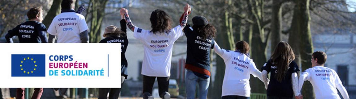 Partez comme volontaire européen dès cette rentrée, avec le Corps Européen de Solidarité