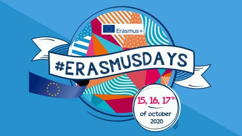 #ErasmusDays 2020 : 15, 16 et 17 octobre