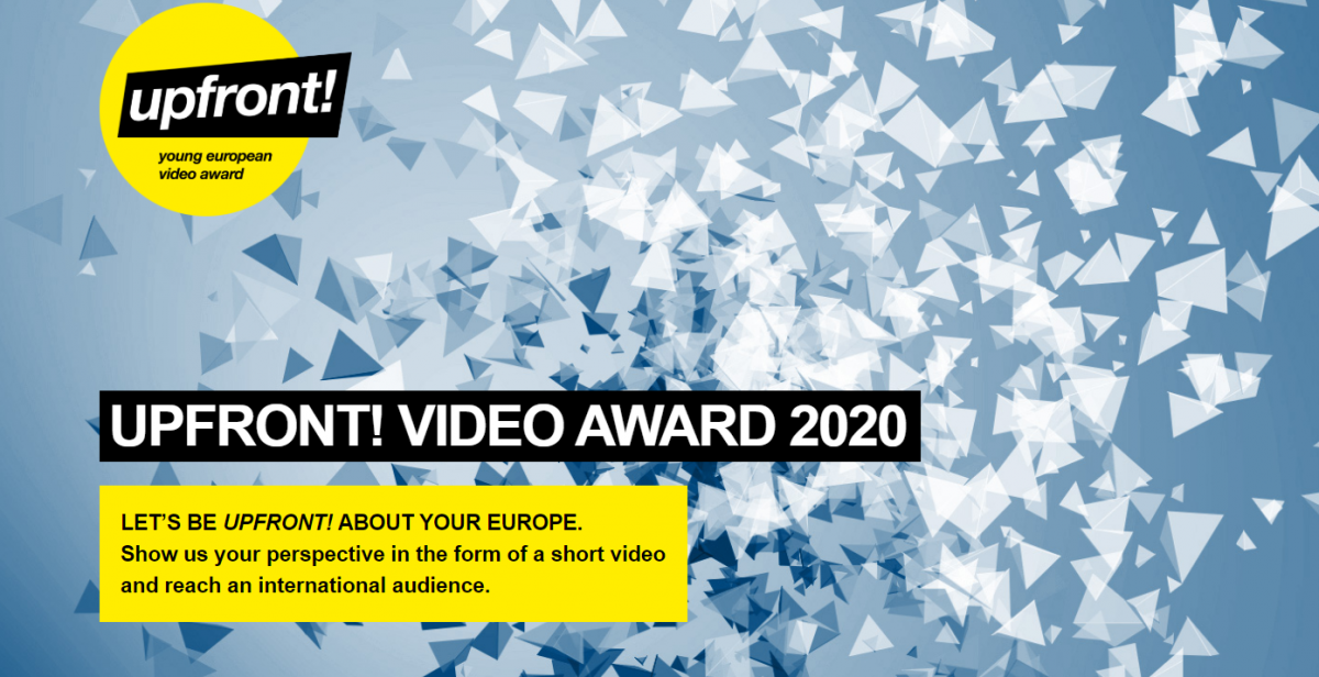 Concours vidéo Upfront! : comment les jeunes voient l'Europe ?