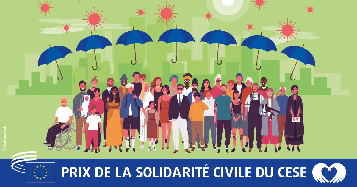 Participez au prix de la solidarité civile du CESE