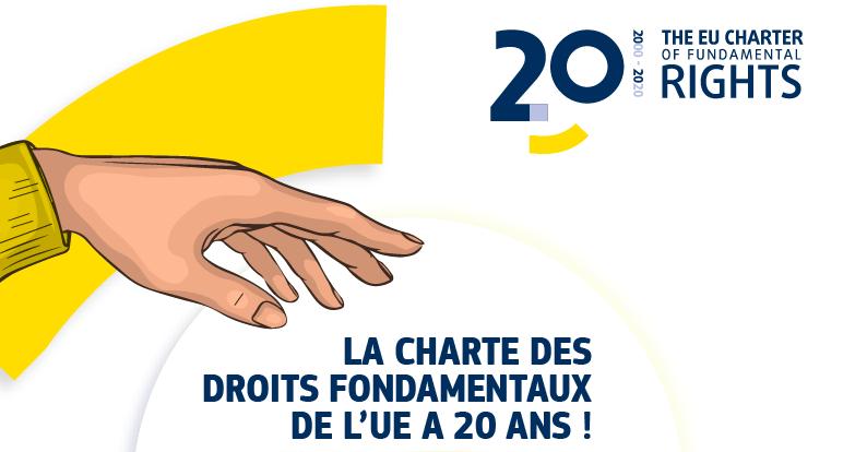 20 ans de la Charte des droits fondamentaux de l'Union européenne !