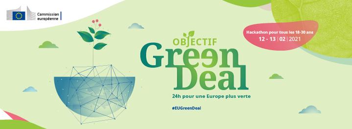 Une compétition d'idées pour l'environnement : 24 heures pour une Europe plus verte !