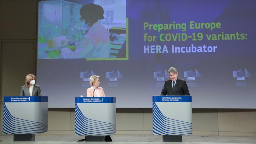 Qu'est-ce que l'incubateur HERA, le nouveau plan de lutte de l'UE face aux variants du Covid-19 ?
