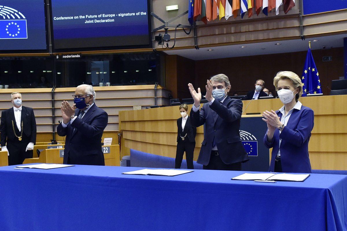 La Conférence sur l'avenir de l'Europe enfin lancée