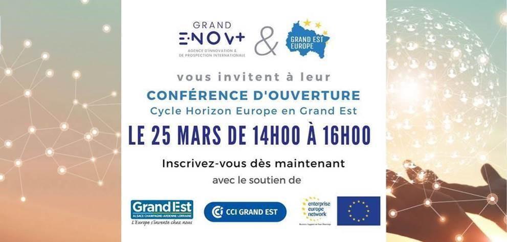 """Participez au cycle """"Horizon Europe en Grand Est"""""""