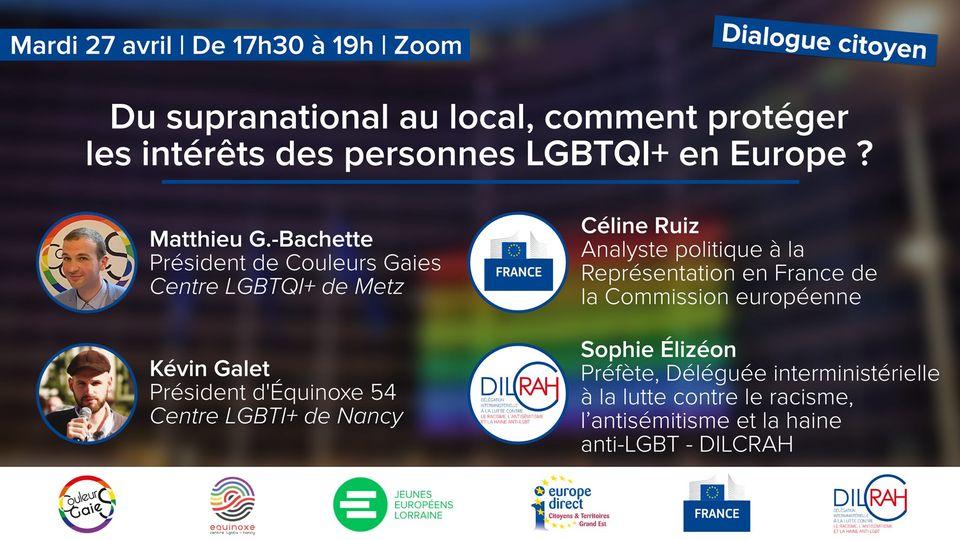 Dialogue citoyen en Lorraine : « Du supranational au local, comment protéger les intérêts [...]